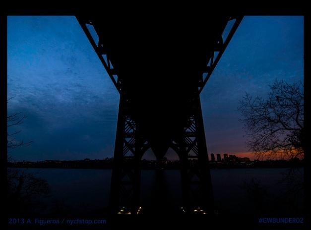 George Washington Bridge (underbelly)
